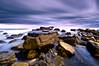 Rubble (dan barron photography - landscape work) Tags: longexposure nightphotography seascape clouds landscape bay ping southshields rubble marsden sigma1020mm nikond90