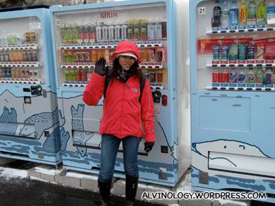 Cute vending machines