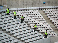 Security at GSP stadium