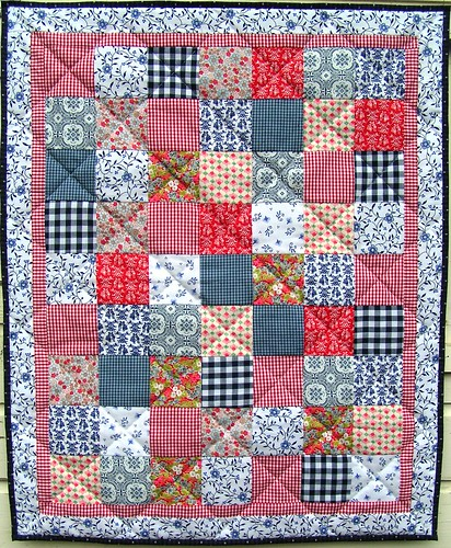 dutch fabric quiltje