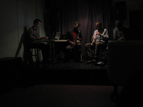 Jonathan Zorn, Wilson Shook, Tyler Wilcox, Michael Thieke quartet