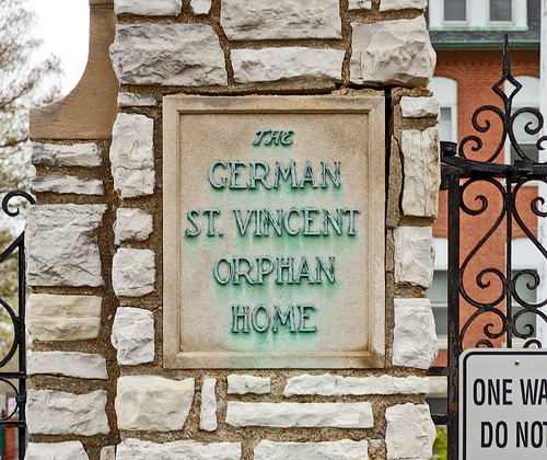 "Saint Vincent Home for Children, in Normandy, Missouri, USA - ""The German St. Vincent Orphan Home"""