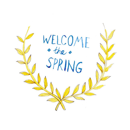 welcome the spring