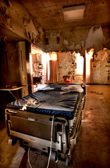 (chasingcars36) Tags: urban chicago abandoned hospital illinois bed decay urbanexploration southside exploration urbex abandonedhospital