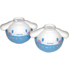 Cinnamoroll Donburi Bowls (pkoceres) Tags: blue kitchen japan ceramic bowl sanrio donburi cinnamoroll tableware dishware babycinnamon   boughtonebay