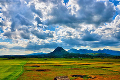 Back to basics (kristian.eric) Tags: summer sky mountains clouds skyscape landscape nikon farm philippines harvest agriculture hdr cloudscape pampanga d90 pseudohdr 18105mm kristianm