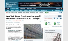 New York Times Considers Charging $5 Per Month For Access To NYT.com (NYT)_1247224929968