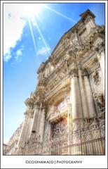Catania - St. Benedetto Church in Crociferi street :: HDR (ciccioetneo) Tags: sea italy sun beautiful fun nikon raw mare nef inner enjoy d200 sole soe hdr catania sicilia interno orton twop divertimento nikond200 photomatrix palazzodelluniversit ortoneffect platinumphoto sicilyitalia cicciofarmaco flickrunitedaward universityspalace