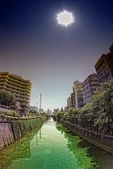 Tokyo Waterway (/\ltus) Tags: japan tokyo raw pentax handheld   ebisu hdr waterway  1xp japanhdr k20d hdr
