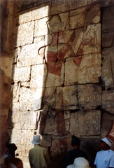 Abydos Seti I Temple 3 (Glenister 1936) Tags: egypt nile scanned ramses ramesses abydos dendera