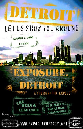 EXPOSURE.Detroit Photography Exhibit Opening