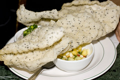 Sesame Cracker with Three Accompaniments