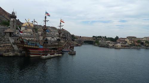 Pirate Ship at Tokyo DisneySea