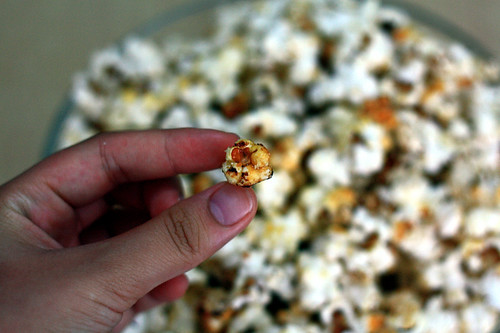 homemade, popcorn, kettle corn
