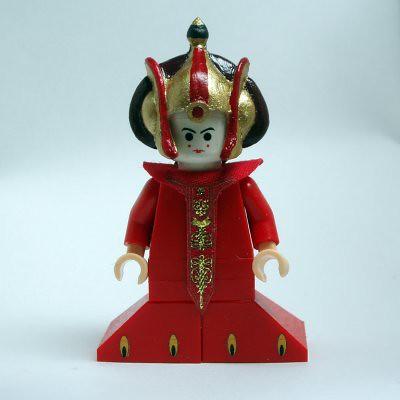 Custom minifig Queen Amidala · queen amidala custom minifig