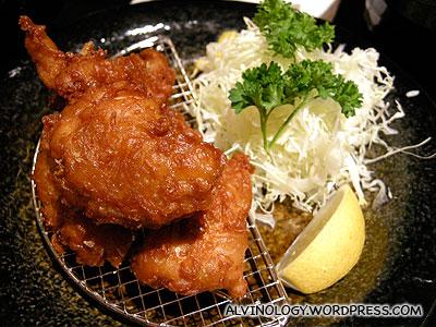 Rachels fried chicken kaarage don