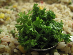 2 Tablespoons chopped parsley