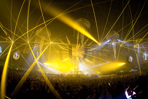 wallpaper yellow and black. Yellow lasers at Sensation