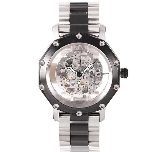 Atlantis Automatic Watch (Silver) (TW579S)