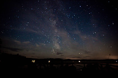 Milkyway and Perseid meteor breaking up (pa_cosgrove) Tags: sky nature skyline night stars tripod wideangle adirondacks astronomy canonef1740mmf4lusm meteor milkyway timedexposure perseid canoneos5dmarkii