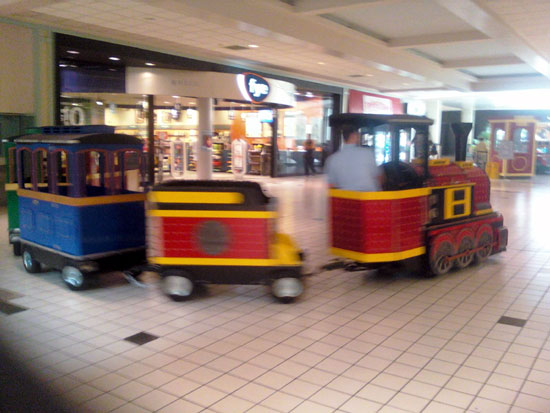 Mall Train (Click to enlarge)