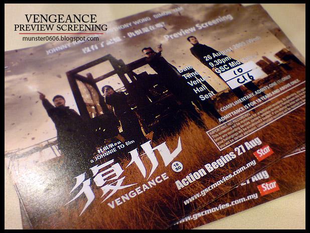 Vengeance 2009
