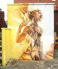 The Soothing Sojourn Amongst The Sunshowers (replete) Tags: uk portrait abstract female nude graffiti leeds tpn replete