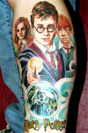 3902759973 1e041167d1 o Tatuajes de Harry Potter