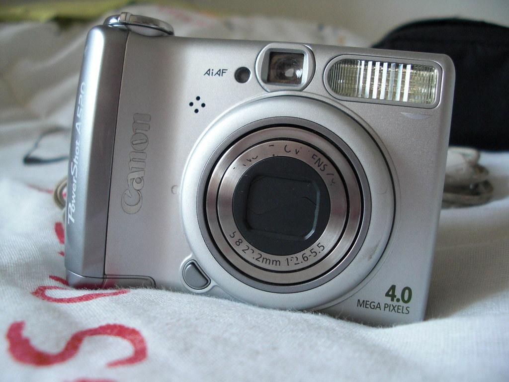 Câmera Digital Canon A520