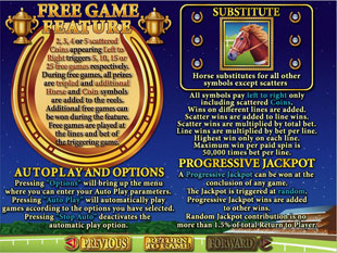 free Derby Dollars gamble bonus game