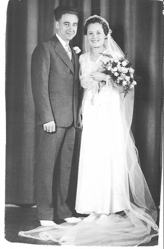 grandma and grandpa - wedding 1937
