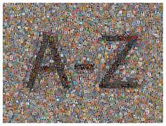 Letters (Leo Reynolds) Tags: photomosaic flickrthing coverpop 0sec hpexif webthing xleol30x xphotomosaicx