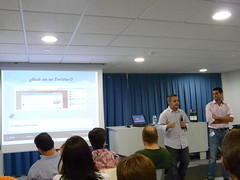 "Alex Puig - Albert García:  ""Tools and strategies to grow your brand in Twitter"""