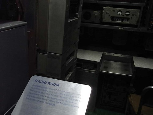 uss growler〜radio room