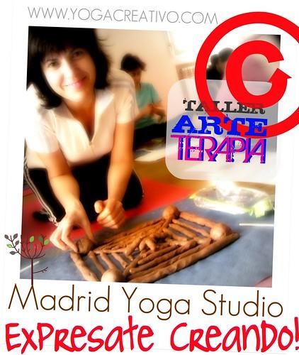 TALLER ARTE TERAPIA EN MADRID YOGA STUDIO