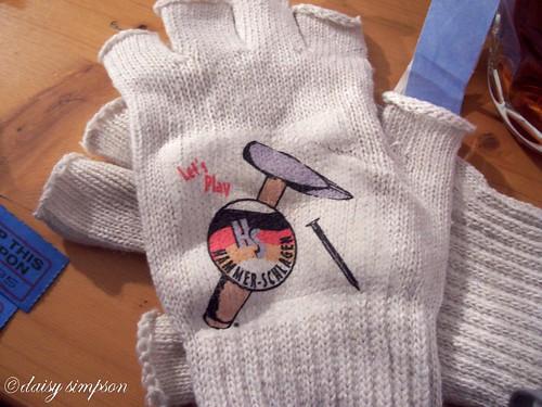 my prized gloves