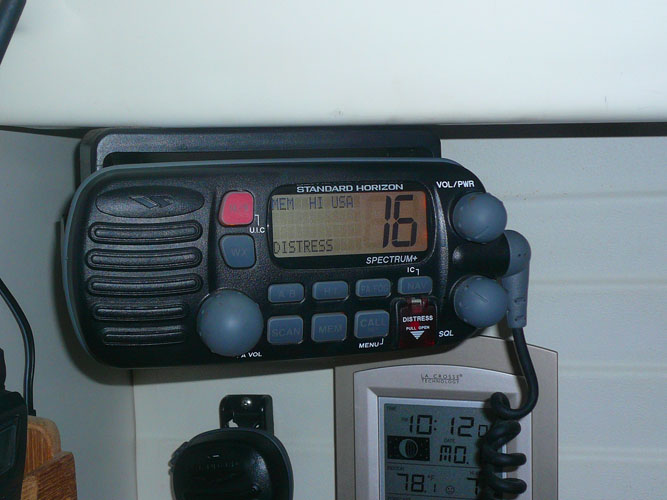 The Standard Horizon VHF