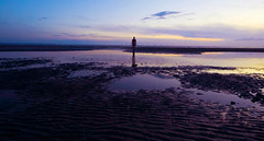 Another Place 1 (Lauren Holloway) Tags: sunset anthonygormley anotherplace crosbybeach
