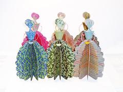 Ana's Dolls - Paper Art (Carlos N. Molina - Paper Art) Tags: paperart paperdolls papersculpture paperartist