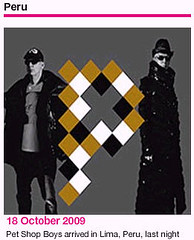 Pet Shop Boys Pandemonium Tour