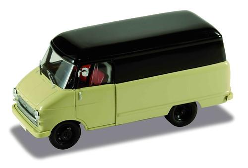 Opel Blitz Kastenwagen-1960_Beige_Black