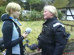 Augusta interviewer vores instruktør, DykkerGitte Gitte Skytte
