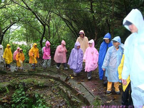 katharine娃娃 拍攝的 9雨中上路。