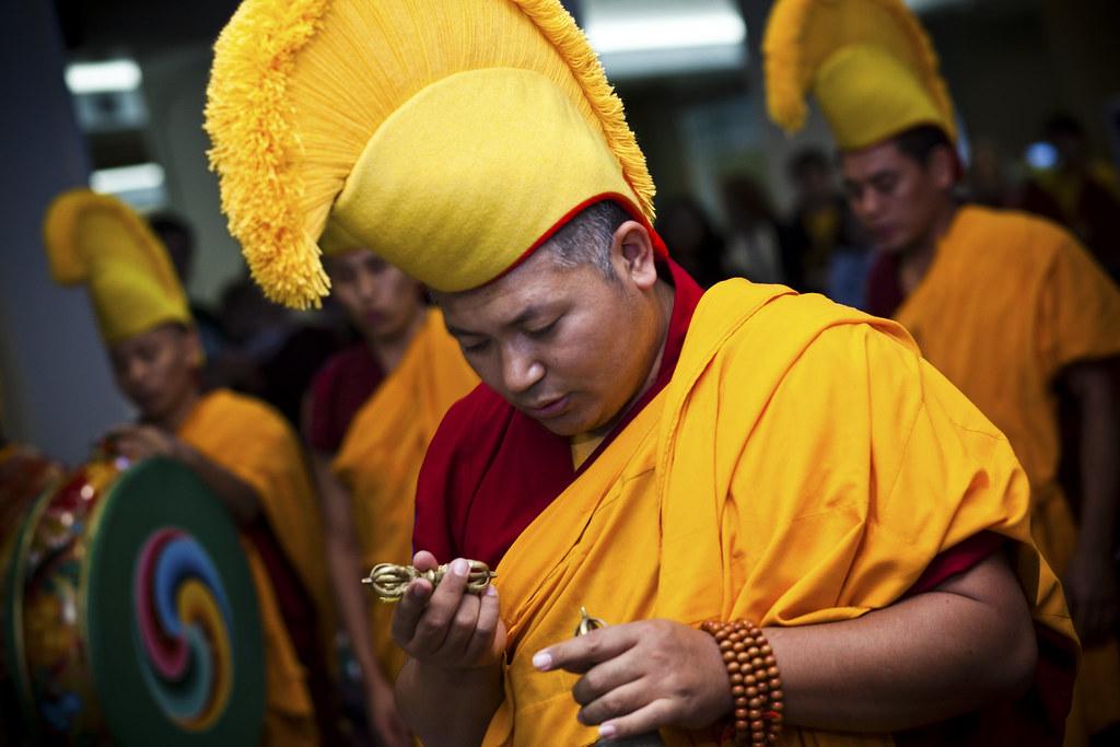 Tibetan Monks visit MU
