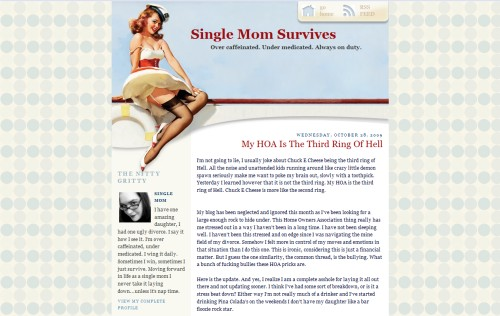 Single Mom Survives