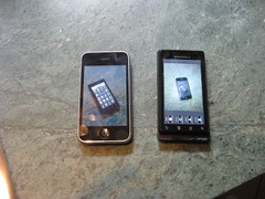 Cooler or Smarter:  The iPhone vs. The Droid
