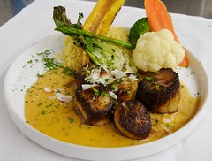 Scallops dish for the Fall in 2007