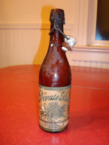 Fredericksburg Bottling Company Beer Bottle