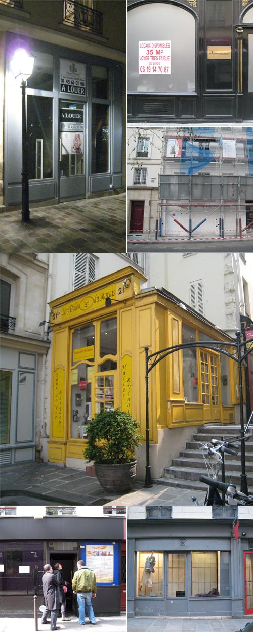 recherche local sur Paris