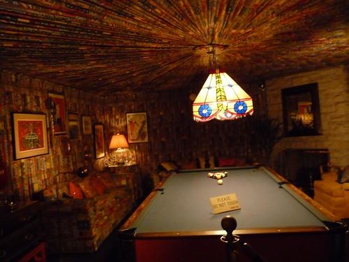 pool room.